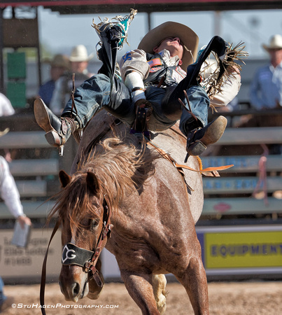 Austin Foss On Western Justice Of Diamond G Rodeo